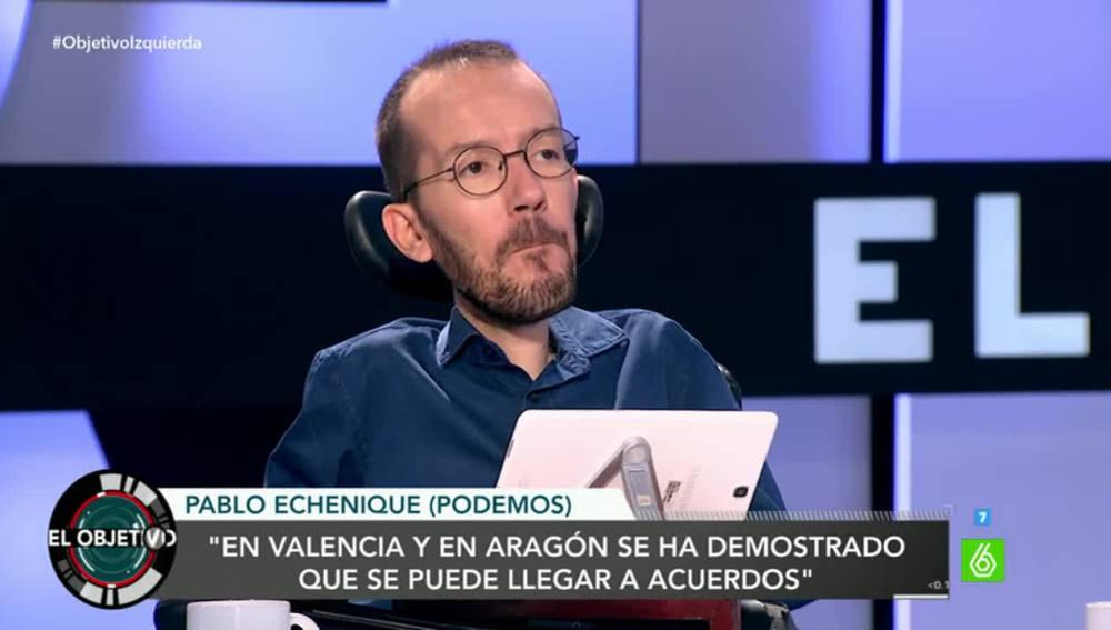 Pablo Echenique en El Objetivo