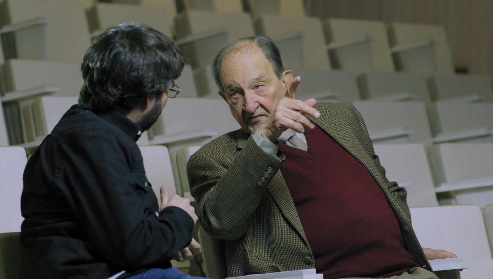 Jordi Évole entrevista a Nicolás Sánchez-Albornoz, un trabajador forzado en la posguerra