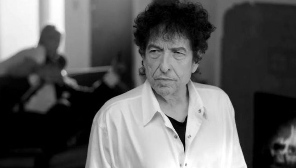 Bob Dylan, en el videoclip de 'The night we called it a day'