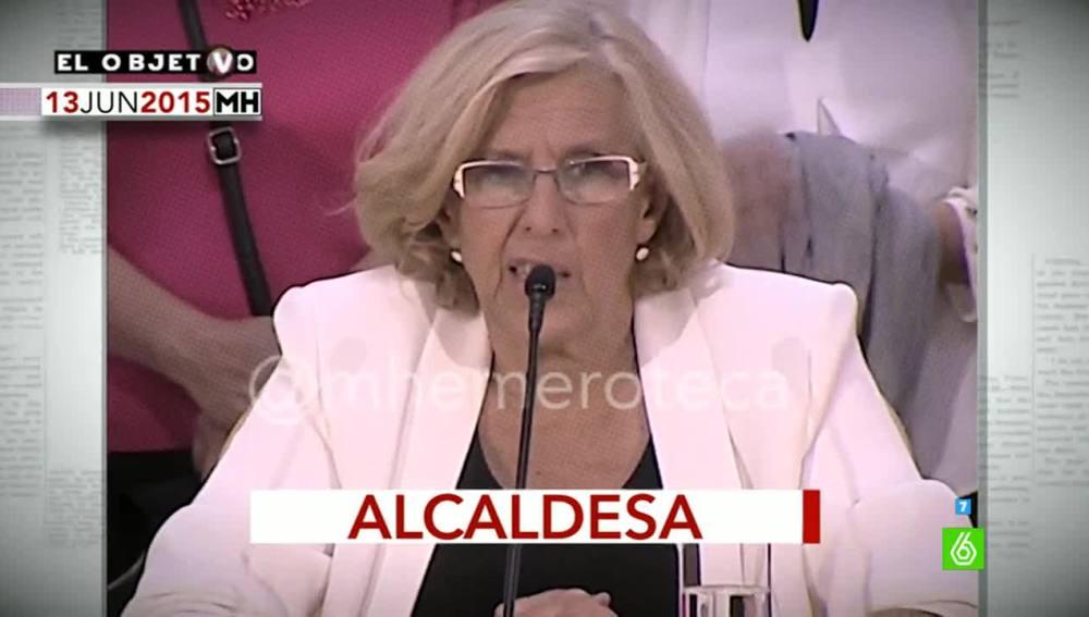 Manuela Carmena, en Maldita Hemeroteca