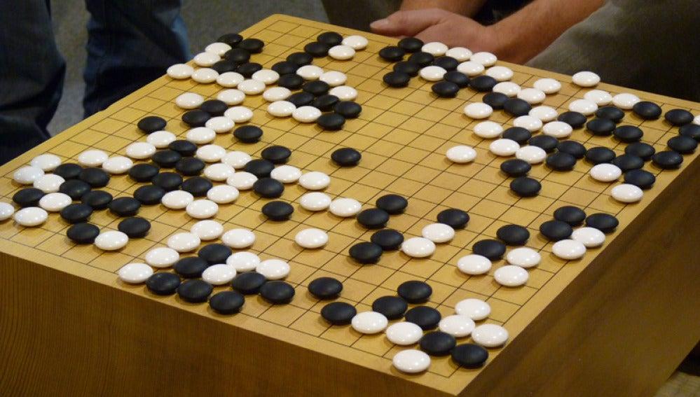 Tablero del juego 'go'