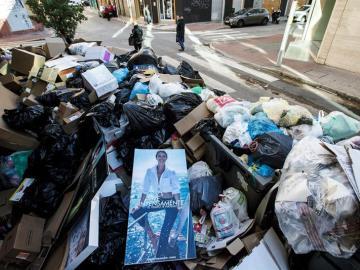 Málaga acumula 3.500 toneladas de basura