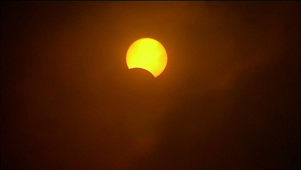 Imagen de un eclipse
