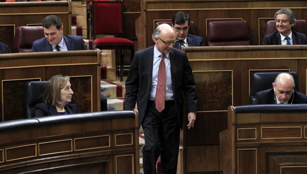 Cristobal Montoro en el Congreso
