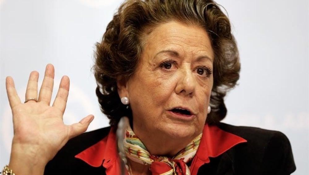 La exalcaldesa de Valencia, Rita Barberá