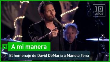 David  DeMaría versiona 'Sangre española'
