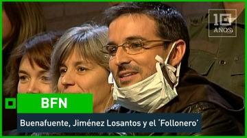 BFN - 2007. Buenafuente VS Jiménez Losantos. 'El follonero' aviva el conflicto - laSexta 15º aniversario