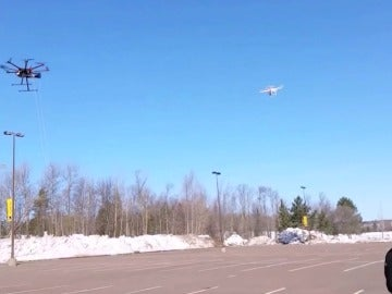 Captura de un dron terrorista