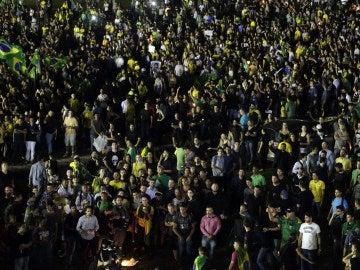 Concentraciones en Brasil por Rousseff y Lula