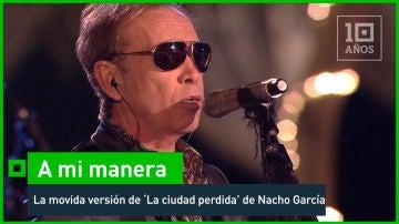 2016. Nacho García Vega versiona 'La ciudad perdida'