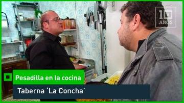 2014. El chef de la taberna 'La Concha' monta en cólera - laSexta 15º aniversario