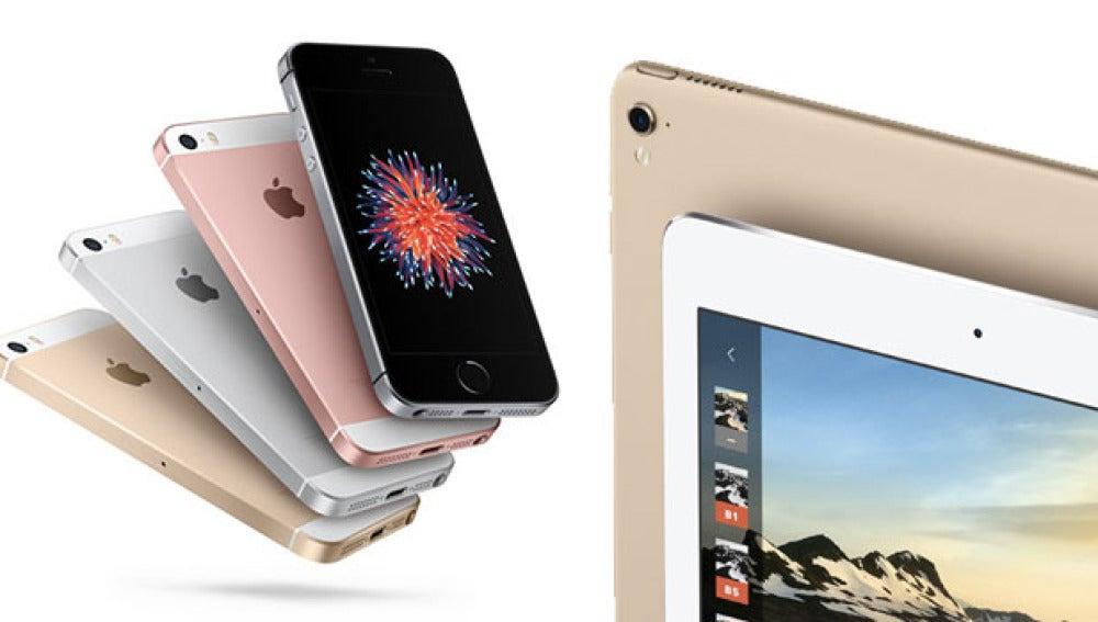 iPhone SE y el iPad Pro 9,7 también en rosa