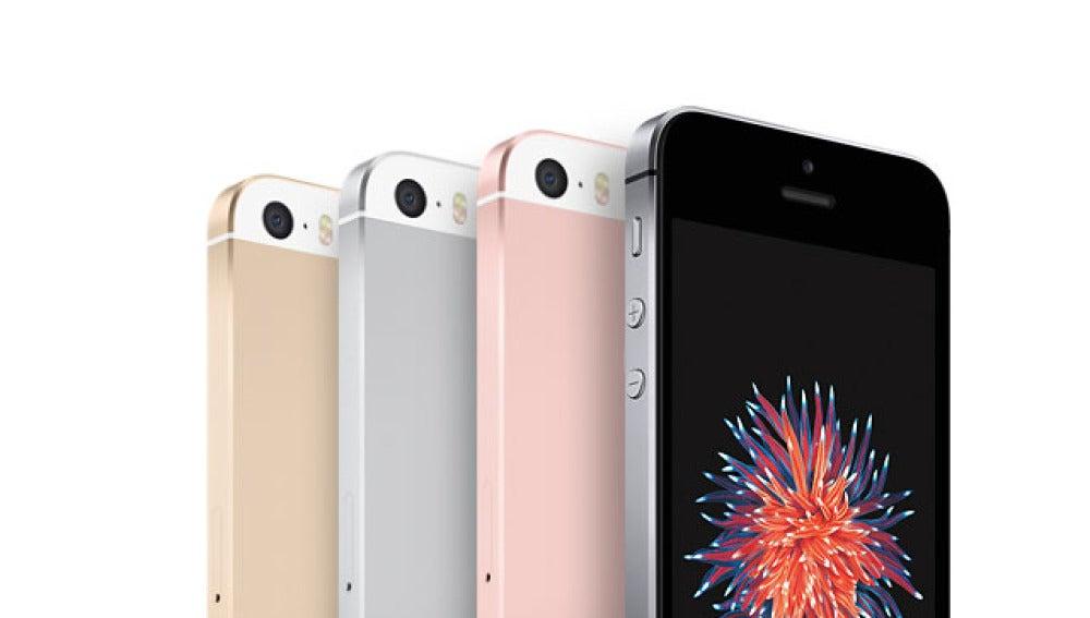 Gama de colores del iPhone SE