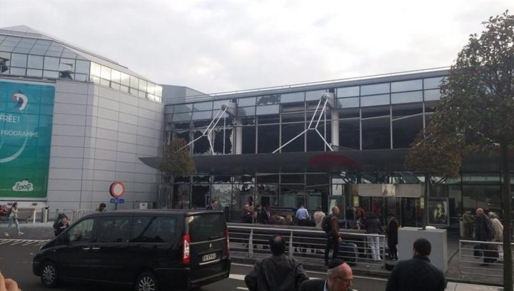Estado del aeropuerto de Bruselas tras las explosiones