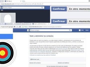 Te acabarán encontrando si tienes perfil de Facebook