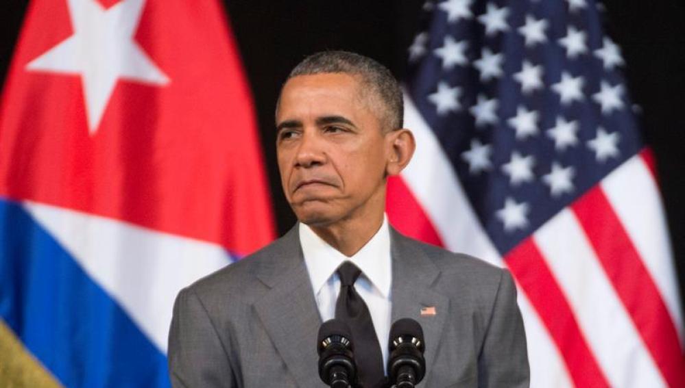 El presidente Obama en su discurso en La Habana