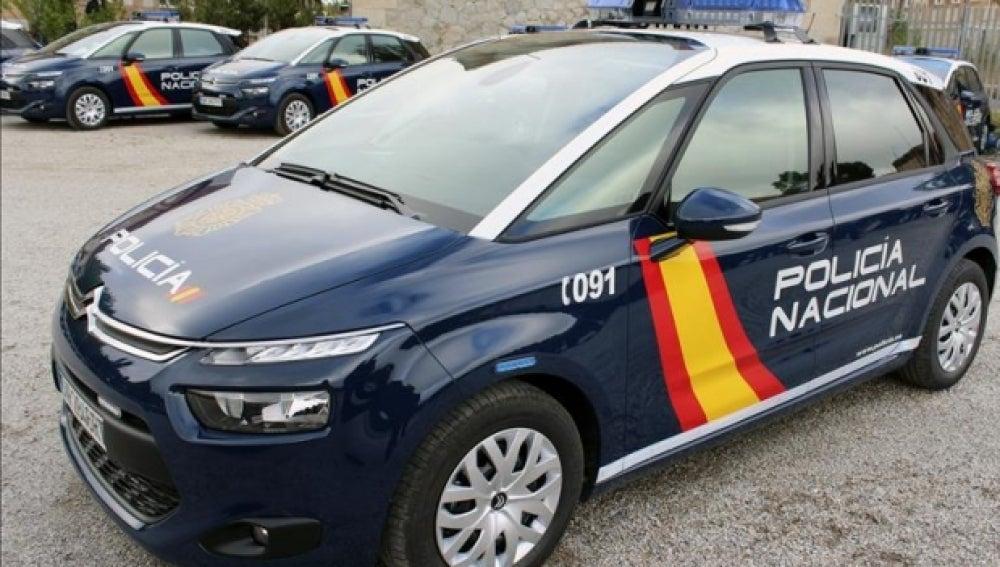 Un coche de la Policía Nacional