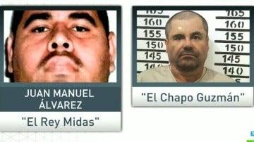 'El Rey Midas' y 'El Chapo' Guzmán
