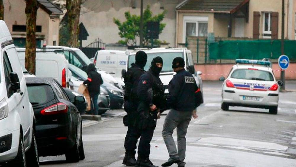Agentes de la Policía de Bélgica
