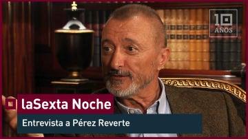 """Arturo Pérez Reverte: """"Me he hecho enemigos mortales por opinar libremente"""" - laSexta Noche - laSexta 15º aniversario"""