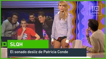 El sonado desliz de Patricia Conde