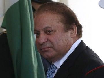 Nawaz Sharif, primer ministro paquistaní, en una imagen de archivo