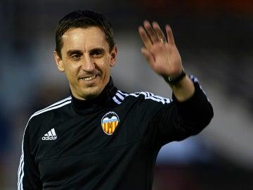 Gary Neville, exentrador del Valencia