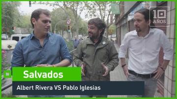 Albert Rivera VS Pablo Iglesias
