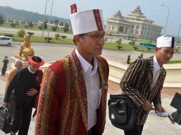 Htin Kyaw, primer presidente electo de Birmania