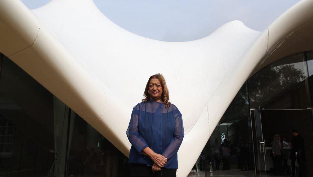 La arquitecta Zaha Hadid