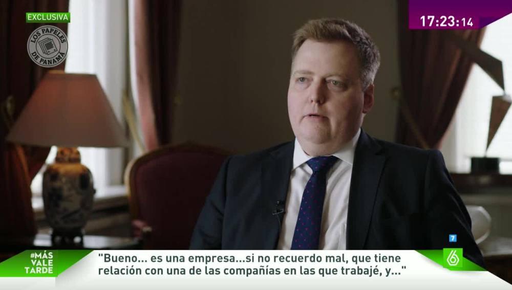 El primer ministro islandés