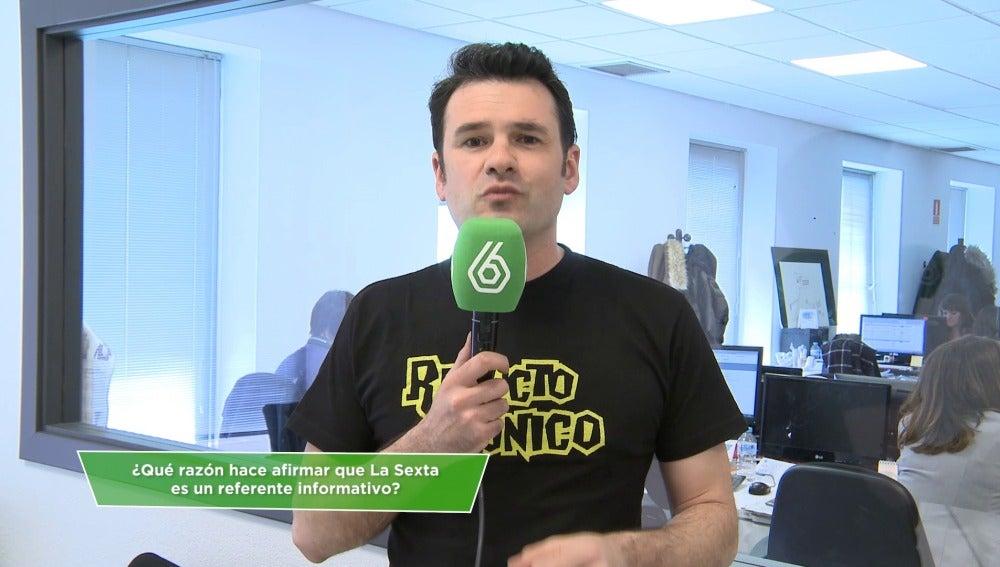 Iñaki López, sobre laSexta como referente informativo