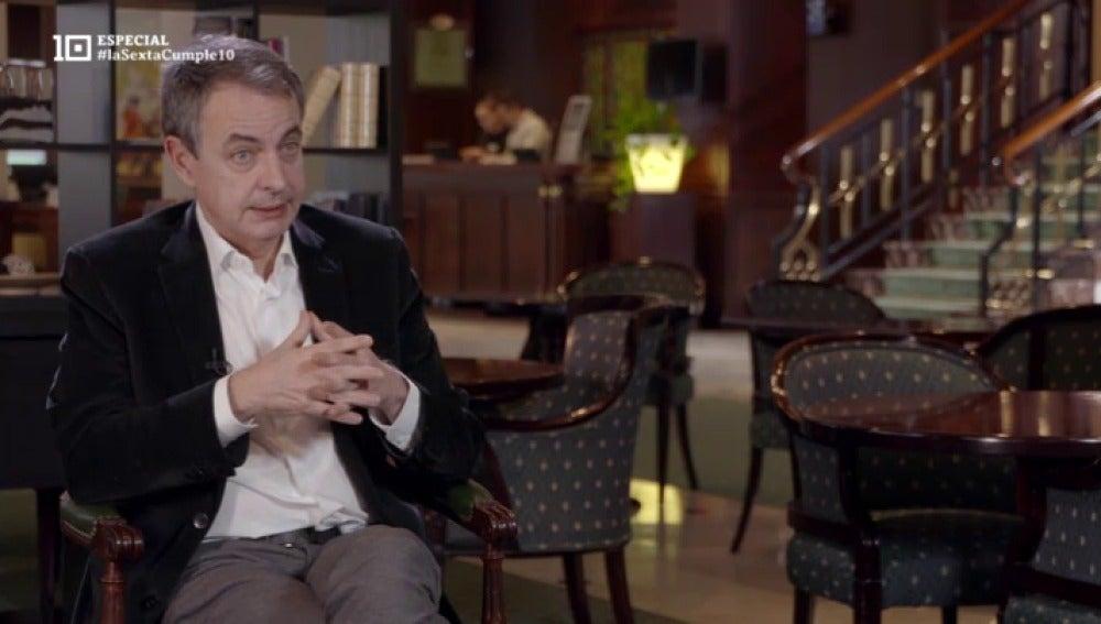 José Luis Rodríguez Zapatero, expresidente del PSOE
