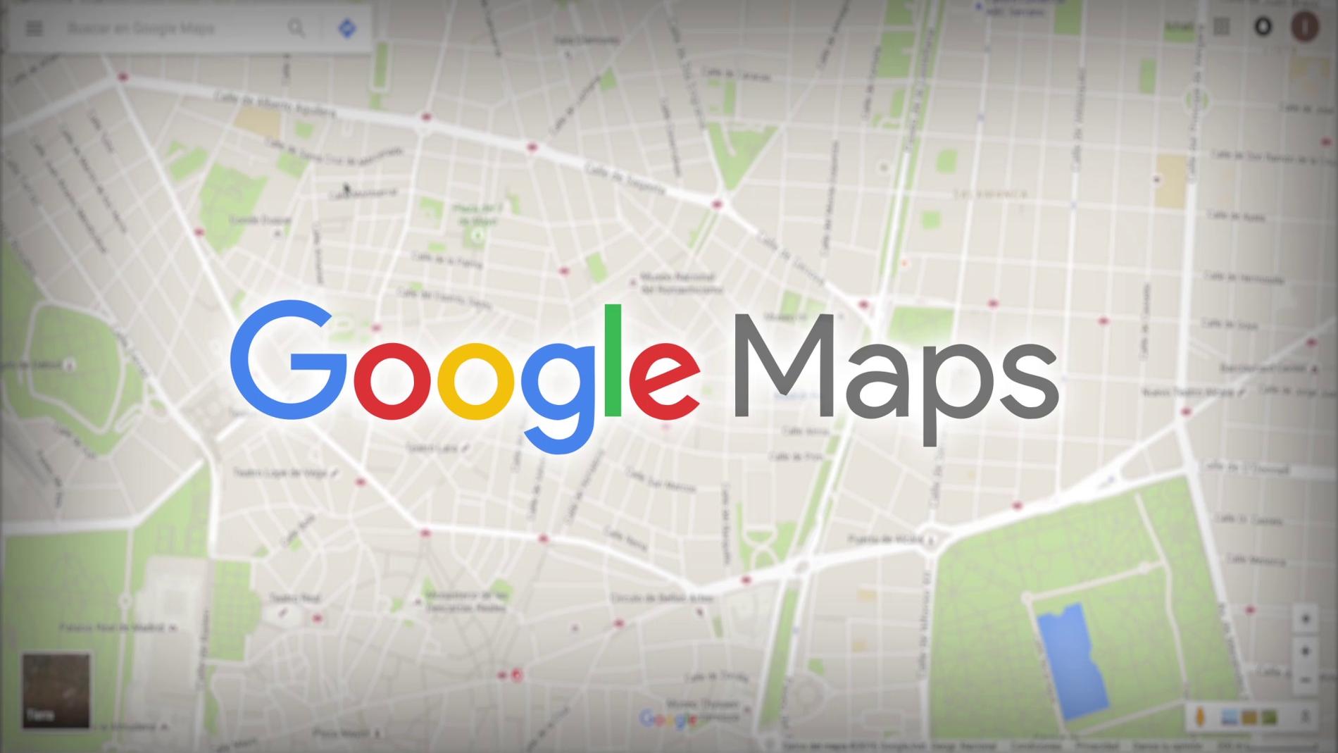 Icono de la aplicación de Google Maps.