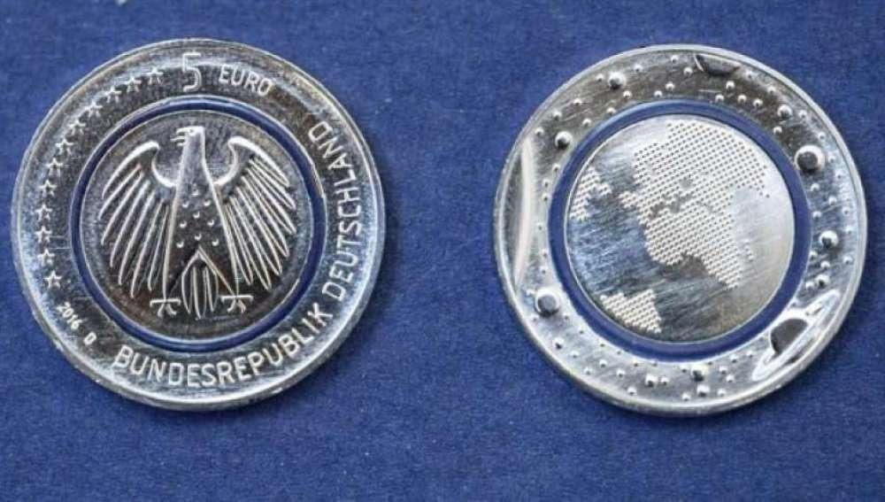 Planeta Azul, la nueva moneda de 5 euros