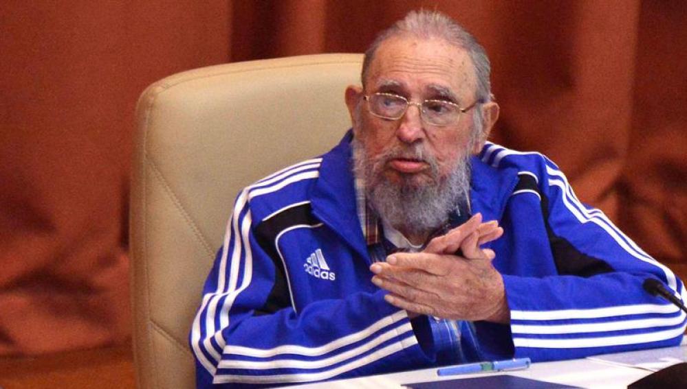 Fidel Castro, en su discurso