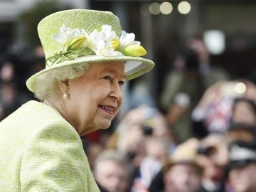 La reina Isabel II