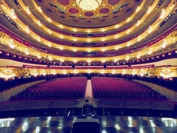 Interior del Teatro del Liceo de Barcelona