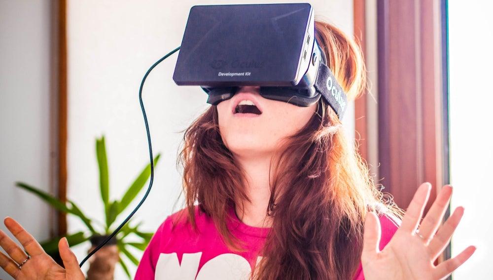 Anna Bashmakova y Oculus Rift