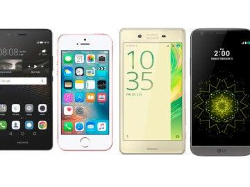 Smartphones de 2016