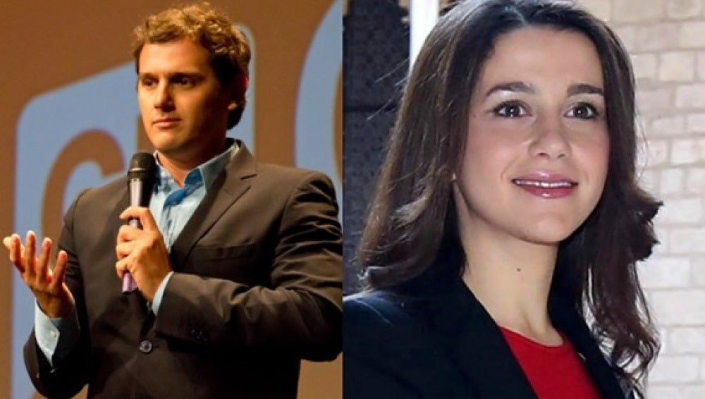 Foto de Albert Rivera e Inés Arrimadas