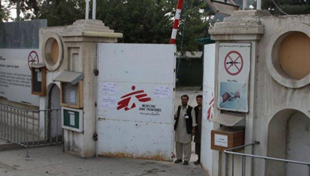 Hospital de MSF atacado por EEUU