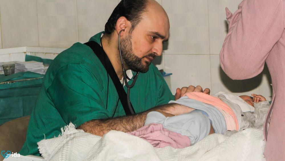 Mohammed Wasim Moaz, el último pediatra de Alepo