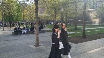 Una pareja de judíos en Nueva York