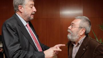 El Gobierno concede a José María Fidalgo y Cándido Méndez las medallas al mérito en el trabajo