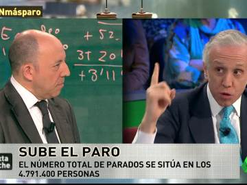 Gonzalo Bernardos y Eduardo Inda, en laSexta Noche