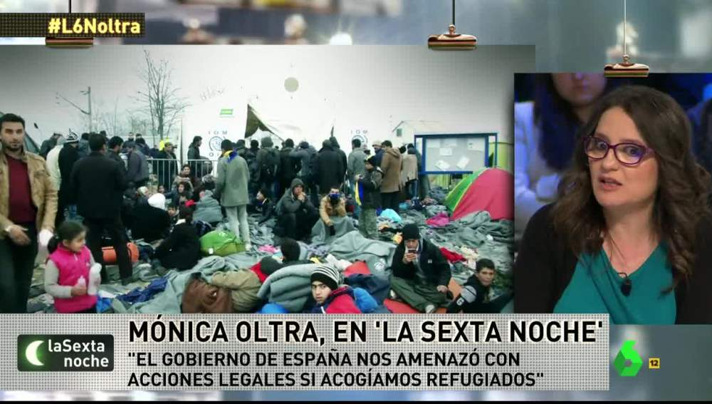 Mónica Oltra, sobre la crisis de refugiados