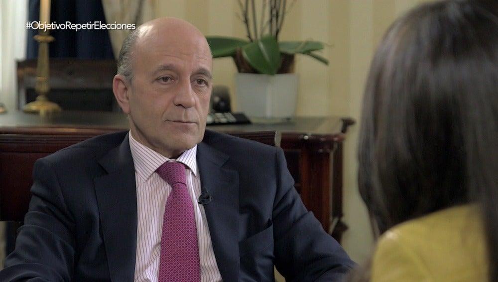 El periodista José Antonio Zarzalejos, en El Objetivo