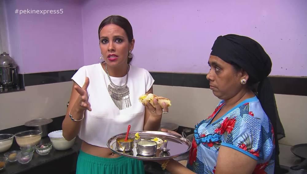 Cristina Pedroche se atreve a preparar Masala Dosa