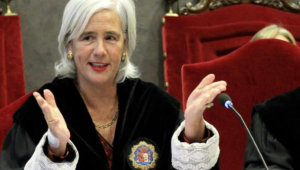 La jueza Garbiñe Biurrun